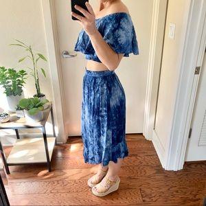 itslove Skirts - LAST | valentina two piece tie dye set |